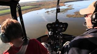 My 1st Helicopter Ride - Robinson R44 Raven II