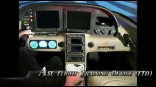 Test Flight: Cirrus SR22  G3 Avidyne. Flight Training Device (FTD)