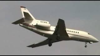 (NetJets Europe) Dassault Falcon 900 CS-DFB On Short Final At Baneasa