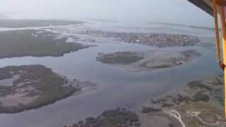 Flying The Zenair STOL CH 701 Sky Jeep Over Senegal, Africa