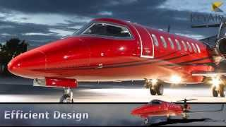Learjet 45XR Private Jet Charter