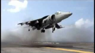 Harrier Vertical Lift Off