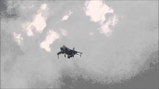 1080p HD | Art Nalls And The British Aerospace Sea Harrier F/A2 | Thunder Over Michigan 2012