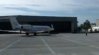 Gulfstream G650 Test Aircraft.MOV