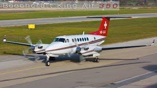 Beechcraft King Air 350 Taxiing - Take Off FULL HD