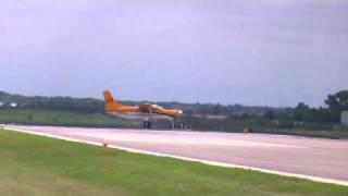 Quest Kodiak Turbine STOL Takeoff, KMKG 8-14-10
