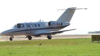 CESSNA 525 CITATION JET; EMBRAER PHENOM 100, KING AIR TURBO NO AEROPORTO DE LONDRINA