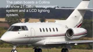 Hawker 800XP Private Jet Charter Flights