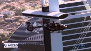 Eurocopter Airbus EC145 T2 Air To Air Filming By Helidubai For Dubai Intl Airshow 2013