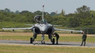 Dassault Rafale C Have Some Problems After The Flying Display On Sunday 21.07.2013 RIAT