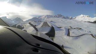 TBM 850 Landing At Courchevel Altiport (inside Pilot 's View) - Jet Prop