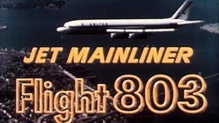 DC-8 / Jet Mainliner Flight 803 - 1959 United Airlines Educational Documentary - WDTVLIVE42