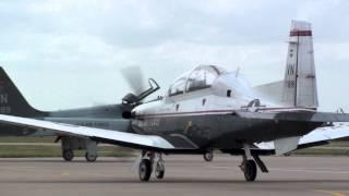 T-6A Texan II HD Footage JSUPT UPT Pilot Training