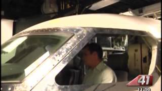 41NBC/WMGT- Gulfstream Aerospace Shows Off G650, Gives 41NBC Exlusive Tour Of Facility