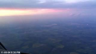 Hawker 900xp - Descent And Landing