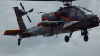 RIAT 2011 - Boeing AH64-D Apache - Royal Netherlands Air Force (HD)