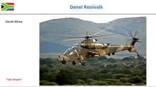 Denel Rooivalk Vs Kamov Ka-50, Attack Helicopter Specs Comparison