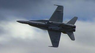 RAAF F/A-18 Hornet - Solo Display