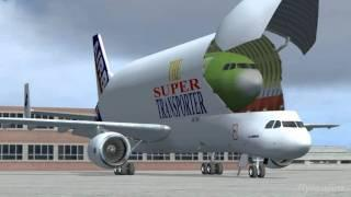AIRBUS - A Day At Hamburg FSX