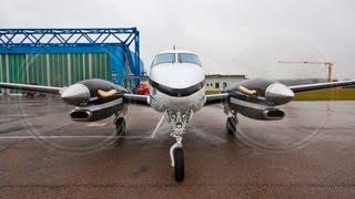 Beechcraft King Air C90GTi - Very Close Start Up, Take Off, Landing, Taxiing Full HD