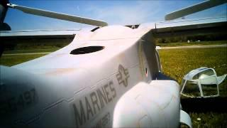 V-22 RC Osprey Crash On May 19th 2012