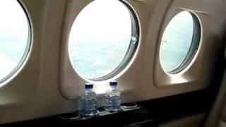 Beechcraft King Air 90 In Flight Footage