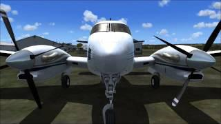 (FSX) Carenado Beechcraft King Air C90B Picture Review
