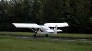 Maiden Flight Of Zenair STOL CH 701