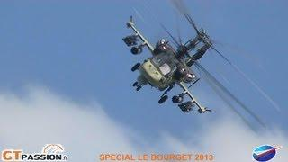 KAMOV KA 52 ALLIGATOR LE BOURGET AIR SHOW 2013