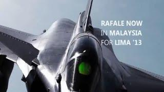 Day 2 Dassault Rafale Fighter Aircraft At Lima 2013 International Aerospace Defence Air Show
