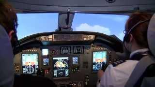 Luxaviation Citation XLS Simulator Training