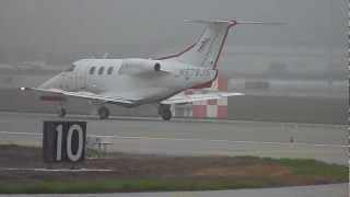 HD Jetsuite Embraer Phenom 100  [N579JS] Takes Off At San Jose International Airport-SJC