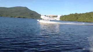Cessna 185 Amphib Takeoff Floats