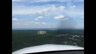 Cirrus SR22: Hilton Head Visual Approach Rwy 3