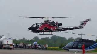 European Helicopter Show 2013 Bell AH1 Cobra Parking