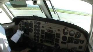 LANDING BEECHCRAFT KING AIR 90 AT QUERETARO INTL