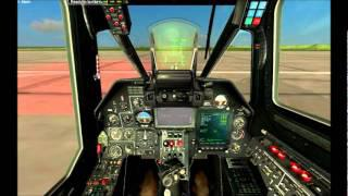 Kamov KA-50 Full Cold-Start Procedure (DCS Black Shark Simulator)
