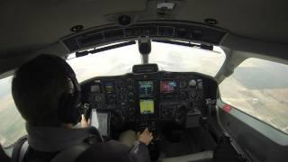 TBM 850 Denver Approach OCT2013