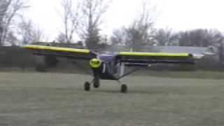 STOL CH 701 Short Take-off And Landing From Soybean Field