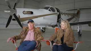Pilatus Business Aircraft Ltd - A Conversation With Ed And Carolee Smith