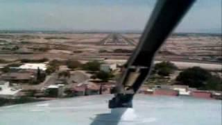 EXTREME SHORT LANDING BEECHCRAFT KING AIR 90