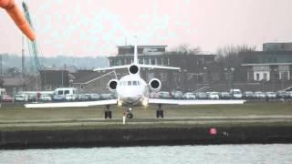 CAT Aviation - Dassault Falcon 900EX - HB-IGI - Landing On London City Airport